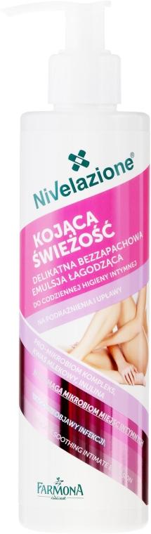 Успокояващ гел за интимна хигиена, без ароматизатори - Farmona Nivelazione Soothing Intimate Gel