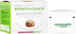 Парфюмерия и Козметика Серум за лице със секрет от охлюв - Instituto Espanol Snail Serum Extract