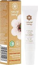 Парфюми, Парфюмерия, козметика Околоочен крем - Natural Being Manuka Honey Eye Cream