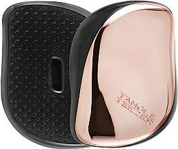 Парфюмерия и Козметика Компактна четка за коса - Tangle Teezer Compact Styler Rose Gold