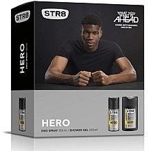 Парфюми, Парфюмерия, козметика STR8 Hero - Комплект (deo/150ml + sh/gel/250ml)