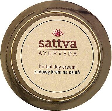Дневен крем за лице с лечебни билки - Sattva Ayurveda Herbal Day Cream — снимка N1