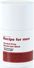 Парфюмерия и Козметика Стик дезодорант за мъже - Recipe For Men Alcohol Free Deodorant Stick