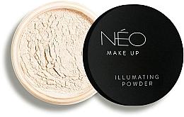 Парфюмерия и Козметика Озаряваща пудра за лице - NEO Make Up Illuminating Powder