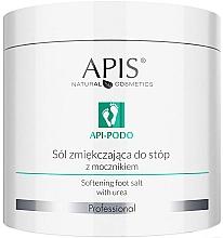 Парфюмерия и Козметика Омекотяващи соли за крака с карбамид - Apis Professional Api-Podo Softening Foot Salt With Urea