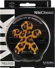 Парфюмерия и Козметика Ароматизатор за автомобил - Mr&Mrs Niki Vanilla & Patchouly Brown Fantasy Animalier