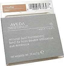 Парфюми, Парфюмерия, козметика Компактен фон дьо тен - Aveda Inner Light Mineral Dual Foundation SPF12