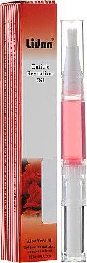 """Масло-молив за кутикула с аромат на """"Роза"""" - Lidan Curticle Revitalizer Rose Oil"""