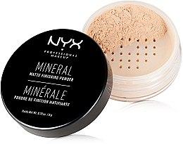 Парфюми, Парфюмерия, козметика Минерална финиш пудра - NYX Professional Makeup Mineral Matte Finishing Powder
