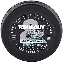 Парфюмерия и Козметика Восък за мустаци - Toni & Guy Men Styling Moustache Wax