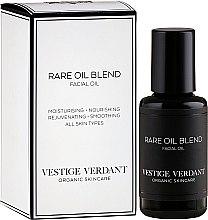 Парфюмерия и Козметика Масло за лице - Vestige Verdant Rare Oil Blend