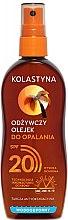 Парфюми, Парфюмерия, козметика Водоустойчиво слънцезащитно масло-спрей със SPF 20 - Kolastyna