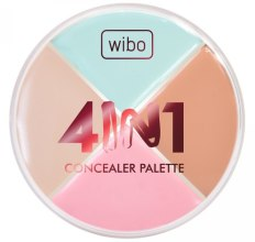 Парфюмерия и Козметика Палитра коректори за лице - Wibo 4in1 Concealer Palette