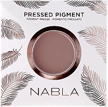 Парфюмерия и Козметика Матови сенки за очи - Nabla Pressed Pigment Feather Edition Matte Refill Eyeshadow (пълнител)