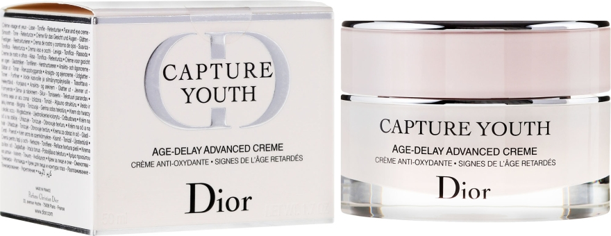 Крем за лице, забавящ процеса на стареене - Dior Capture Youth Age-Delay Advanced Creme