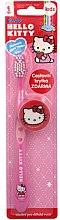 Парфюми, Парфюмерия, козметика Детска четка за зъби с капачка - VitalCare Hello Kitty