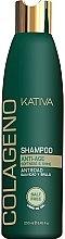 Парфюми, Парфюмерия, козметика Възстановяващ шампоан с колаген за всеки тип коса - Kativa Colageno Shampoo