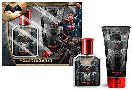 Парфюмерия и Козметика DC Comics Batman VS Superman - Комплект (тоал. вода/75ml + душ гел/150ml)