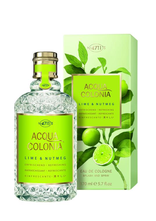 Maurer & Wirtz 4711 Aqua Colonia Lime & Nutmeg - Одеколон