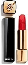 Парфюмерия и Козметика Червило за устни - Chanel Rouge Allure Velvet Camelia