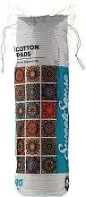 Парфюми, Парфюмерия, козметика Козметичн памучни тампони, 80 бр - Cleanic Face Care Pads