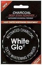 Парфюмерия и Козметика Избелваща пудра за зъби - White Glo Activated Charcoal Teeth Polishing Powder