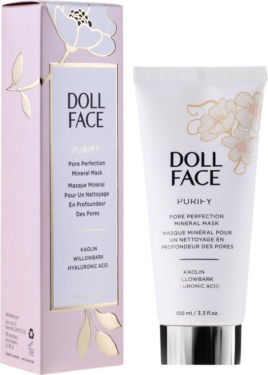 Минерална маска за лице за намаляване на порите - Doll Face Pore Perfecting Mineral Mask