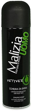 Mirato Malizia Uomo Vetiver - Пяна за бръснене — снимка N1