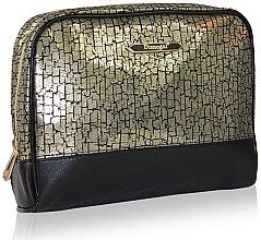 Парфюми, Парфюмерия, козметика Козметична чантичка 4971, черно-златна - Donegal