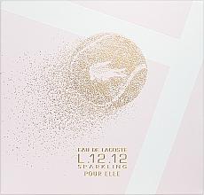 Парфюмерия и Козметика Lacoste Eau de Lacoste L.12.12 Pour Elle Sparkling - Комплект (тоал. вода/90ml + душ гел/150ml)