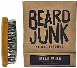 Парфюмерия и Козметика Четка за брада - Waterclouds Beard Junk Beard Boar Bristle Brush