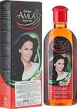 Парфюми, Парфюмерия, козметика Охлаждащо масло за коса - Dabur Amla Cooling Oil