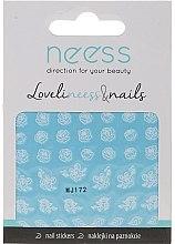 Парфюмерия и Козметика Декориращи лепенки за нокти, 3692, MJ172 - Neess
