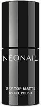 Парфюмерия и Козметика Матов топ лак - NeoNail Professional Dry Top Matte