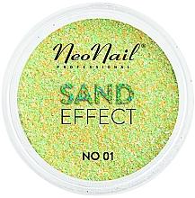 Парфюмерия и Козметика Брокат за нокти с пясъчен ефект - NeoNail Professional Sand Effect