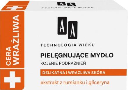 Сапун за деликатна и чувствителна кожа - AA Cosmetics Technolgia Wieku Cera Wrażliwa Soap