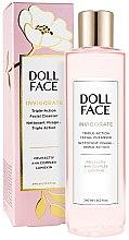Парфюми, Парфюмерия, козметика Почистващ продукт за лице - Doll Face Invigorate Triple-Action Facial Cleanser