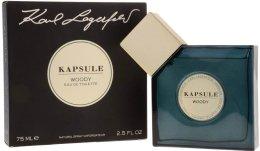 Парфюмерия и Козметика Karl Lagerfeld Kapsule Woody - Тоалетна вода