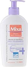Парфюмерия и Козметика Почистващо мляко за лице - Mixa Pro-Tolerance Cleansing Milk