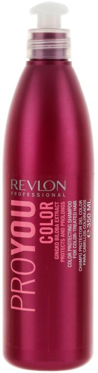 Шампоан запазващ цвета при боядисана коса - Revlon Professional Pro You Color Shampoo — снимка N1