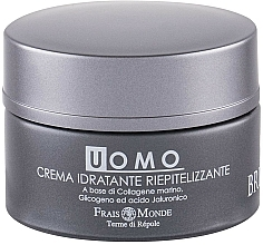 Парфюмерия и Козметика Крем за лице - Frais Monde Men Brutia Repairing Moisturizing Cream