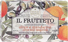 Парфюмерия и Козметика Сапун с маслиново масло и мандарини - Nesti Dante Il Frutteto Soap