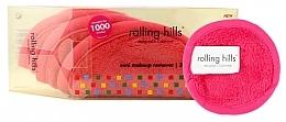 Парфюмерия и Козметика Мини кърпи за почистване на грим, розови - Rolling Hills Mini Makeup Remover Pink