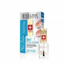Парфюми, Парфюмерия, козметика Лак-серум за нокти - Eveline Cosmetics Nail Salon 9IN1