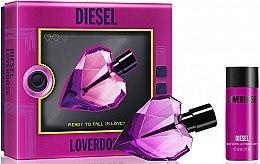 Парфюмерия и Козметика Diesel Loverdose - Комплект (парф. вода/30ml + лосион тяло/50ml)