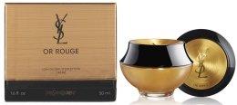"""Парфюми, Парфюмерия, козметика Крем за лице """"Червено злато"""" - Yves Saint Laurent Or Rouge Soin Global D`Exeption Cream (тестер)"""