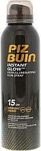 Парфюмерия и Козметика Спрей за тен с бляскав ефект - Piz Buin Instant Glow Skin Illuminating Sun Spray SPF15