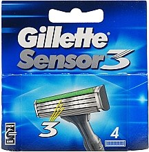 Парфюми, Парфюмерия, козметика Сменяеми ножчета за бръснене - Gillette Sensor 3