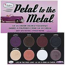 Парфюмерия и Козметика Палитра сенки за очи - theBalm Petal To The Metal Shift Into Neutral