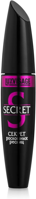 """Спирала за мигли """"Тайната на разкошните мигли"""" - Luxvisage Secret Mascara — снимка N1"""